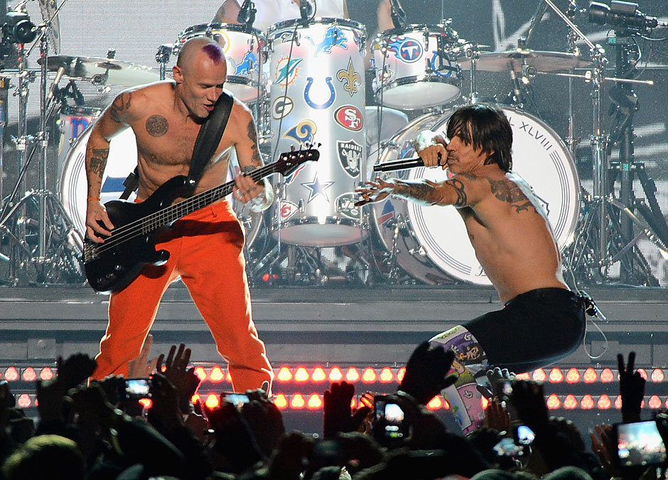 Red Hot Chili Peppers - Flea and Anthony Kiedis