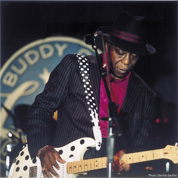 Buddy Guy in performance. Photo: Derrick Santini