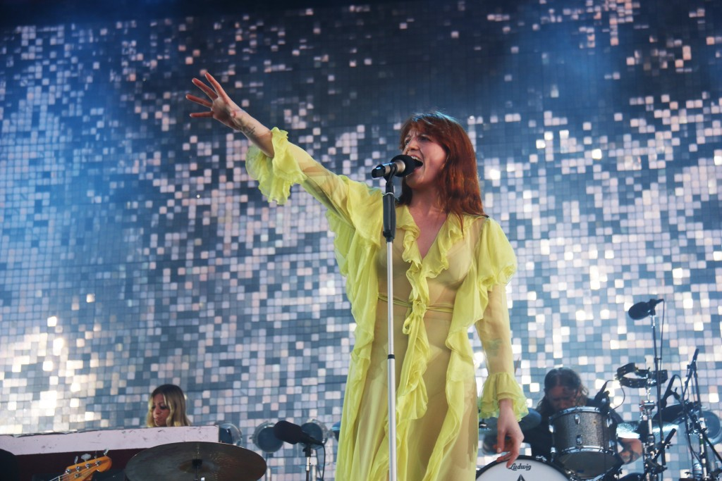Florence Welch - Florence + the Machine. Photo: David Kerns
